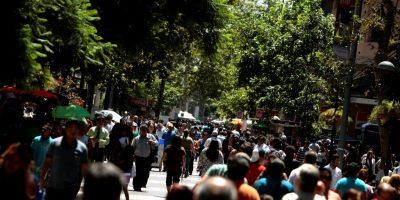 16  Febrero 2012  El paseo Ahumada cumple 35 a–os desde su inauguraci—n  Foto: Domingo Burgos / La Tercera