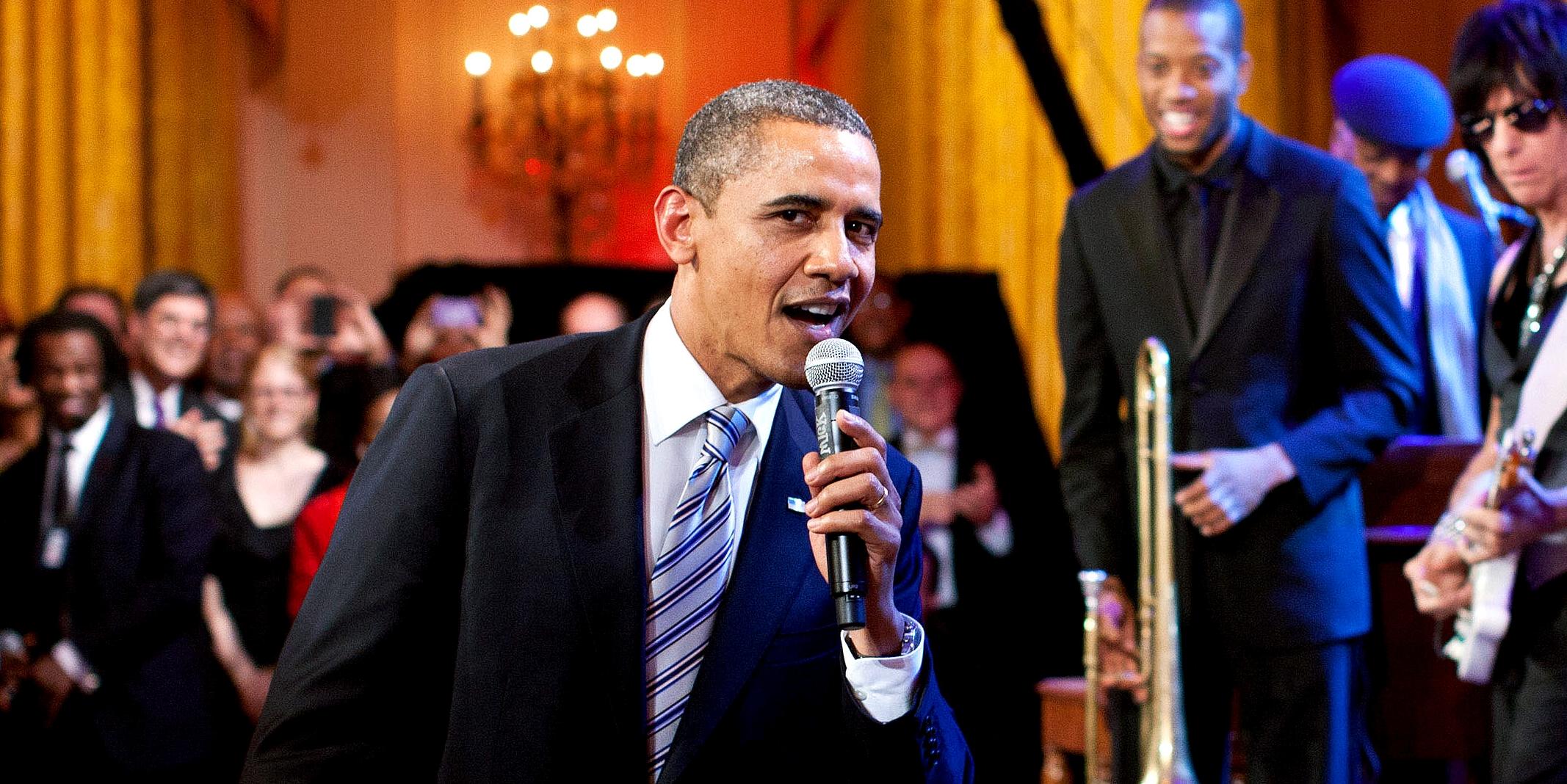 Resultado de imagen para obama playlist 2017