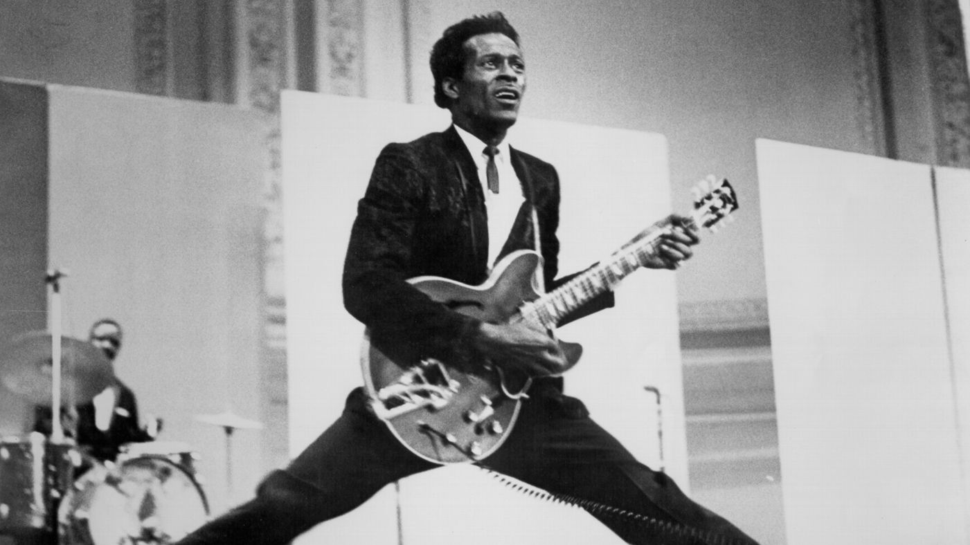 Chuck Berry murió a los 90