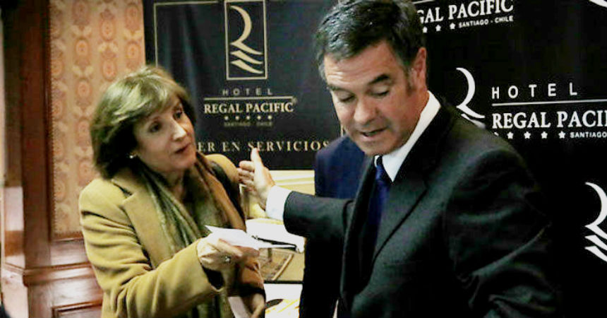 Las frases amenazantes del empresario que acusó a Ossandón