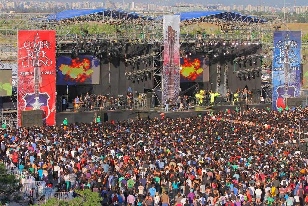 La Cumbre del Rock Chileno anuncia sus primeros artistas
