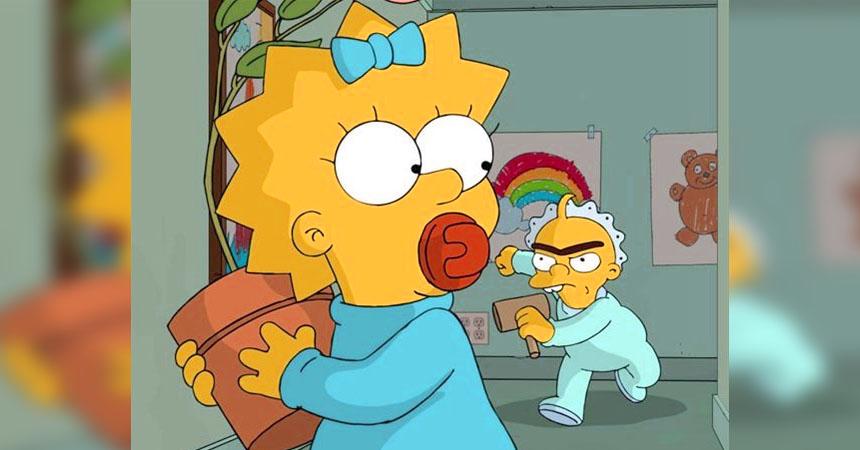 Los Simpson: Creadores revelan por qué Maggie no debe crecer