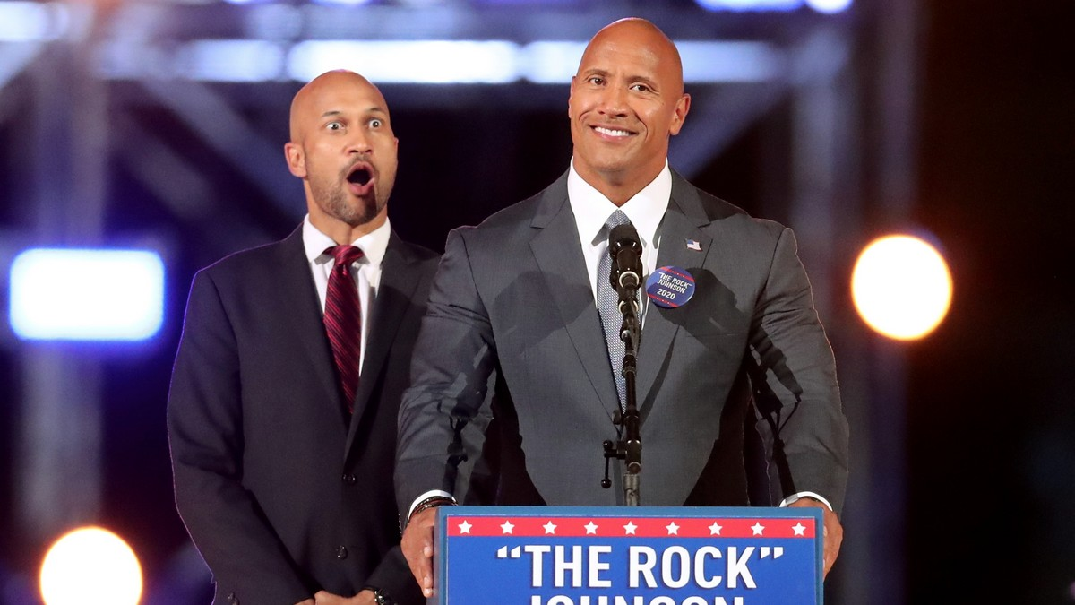 The Rock recibió estrella en Paseo de la Fama