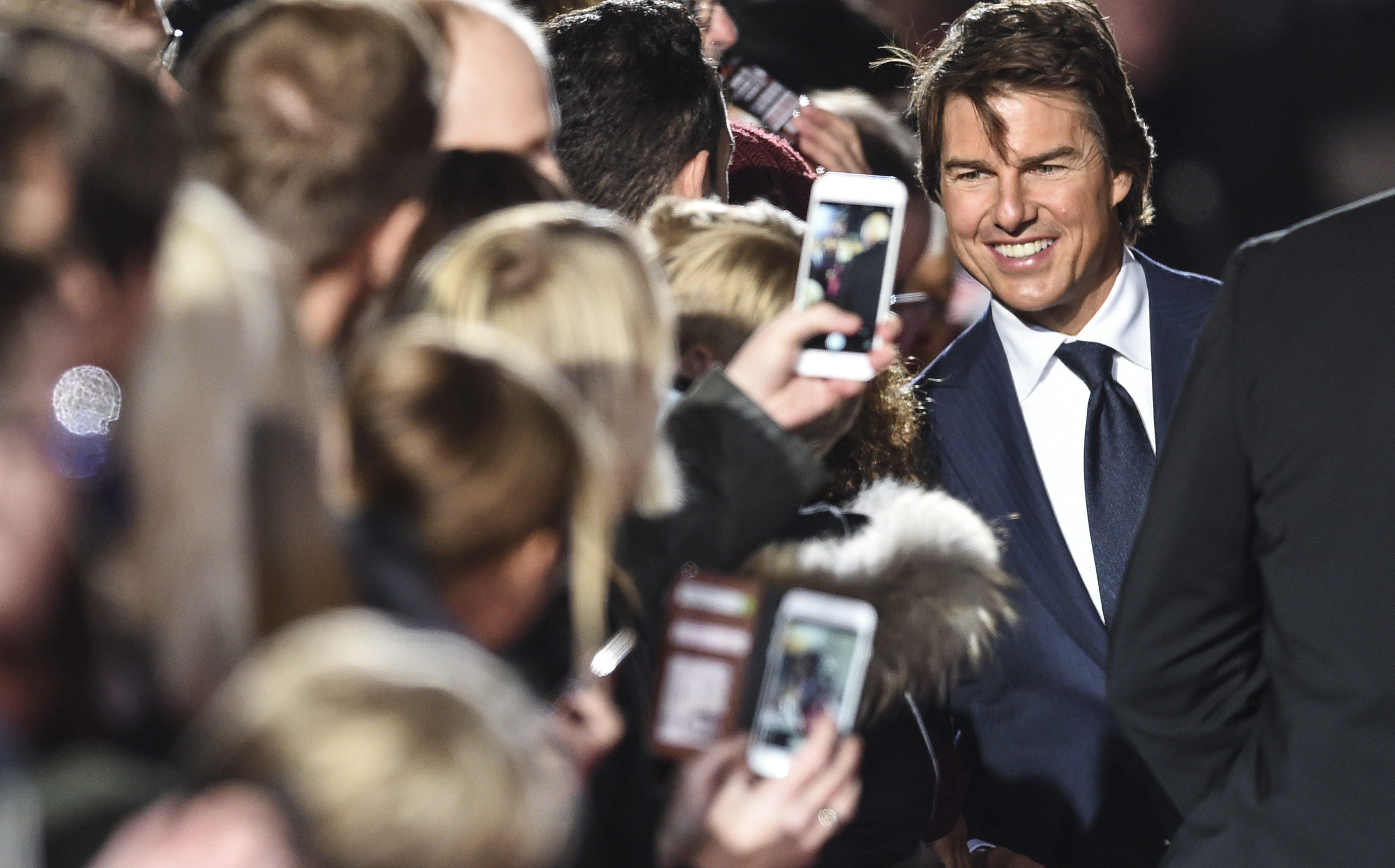 Tom Cruise debuta en Instagram con foto de 'Misión: Imposible'