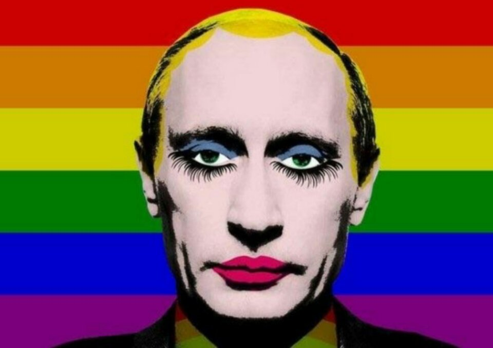 Resultado de imagen de Vladimir Putin pop art imagenes