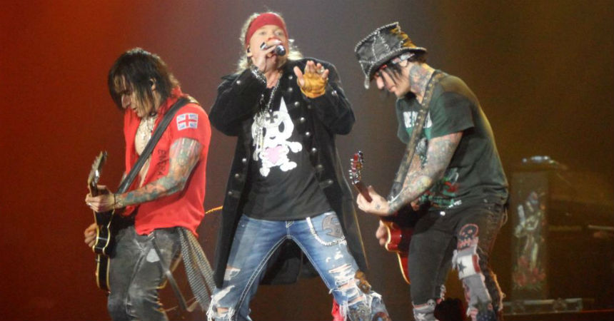 Guns N' Roses lanzará una reedición de 'Appetite for Destruction'