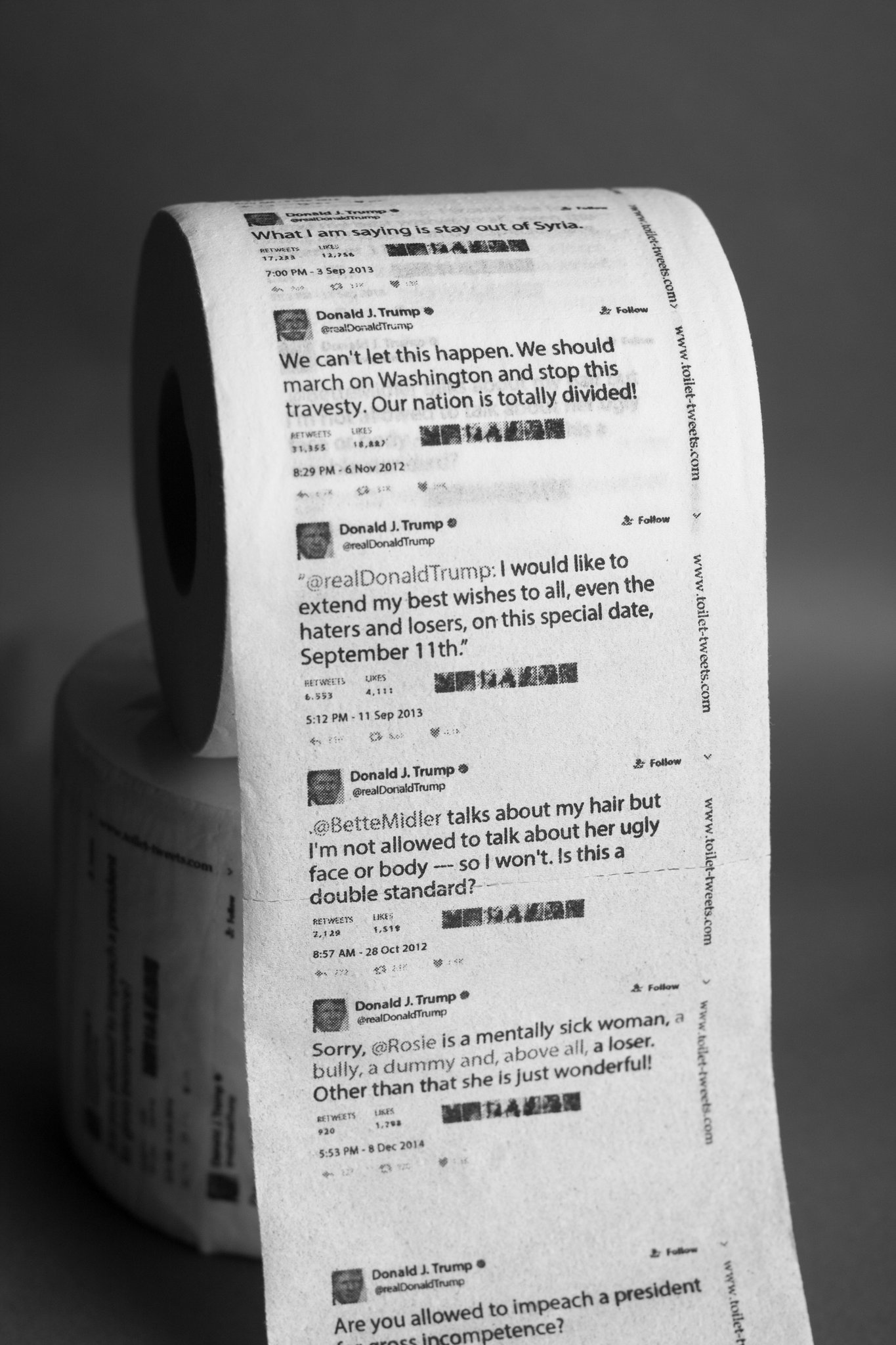 Empresa Creó Papel Higiénico Con Las Frases Que Donald Trump