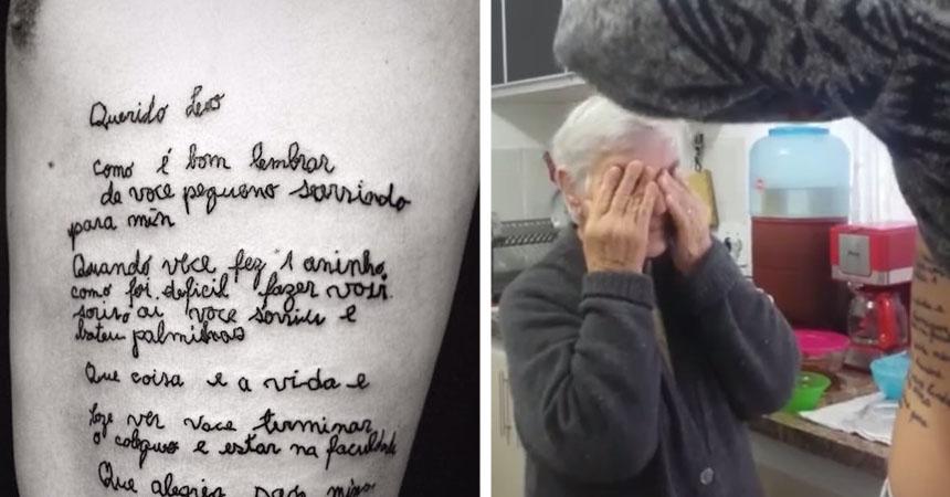 El Dramatico Tatuaje Que Se Hizo Este Joven En Su Cuerpo Y Que De
