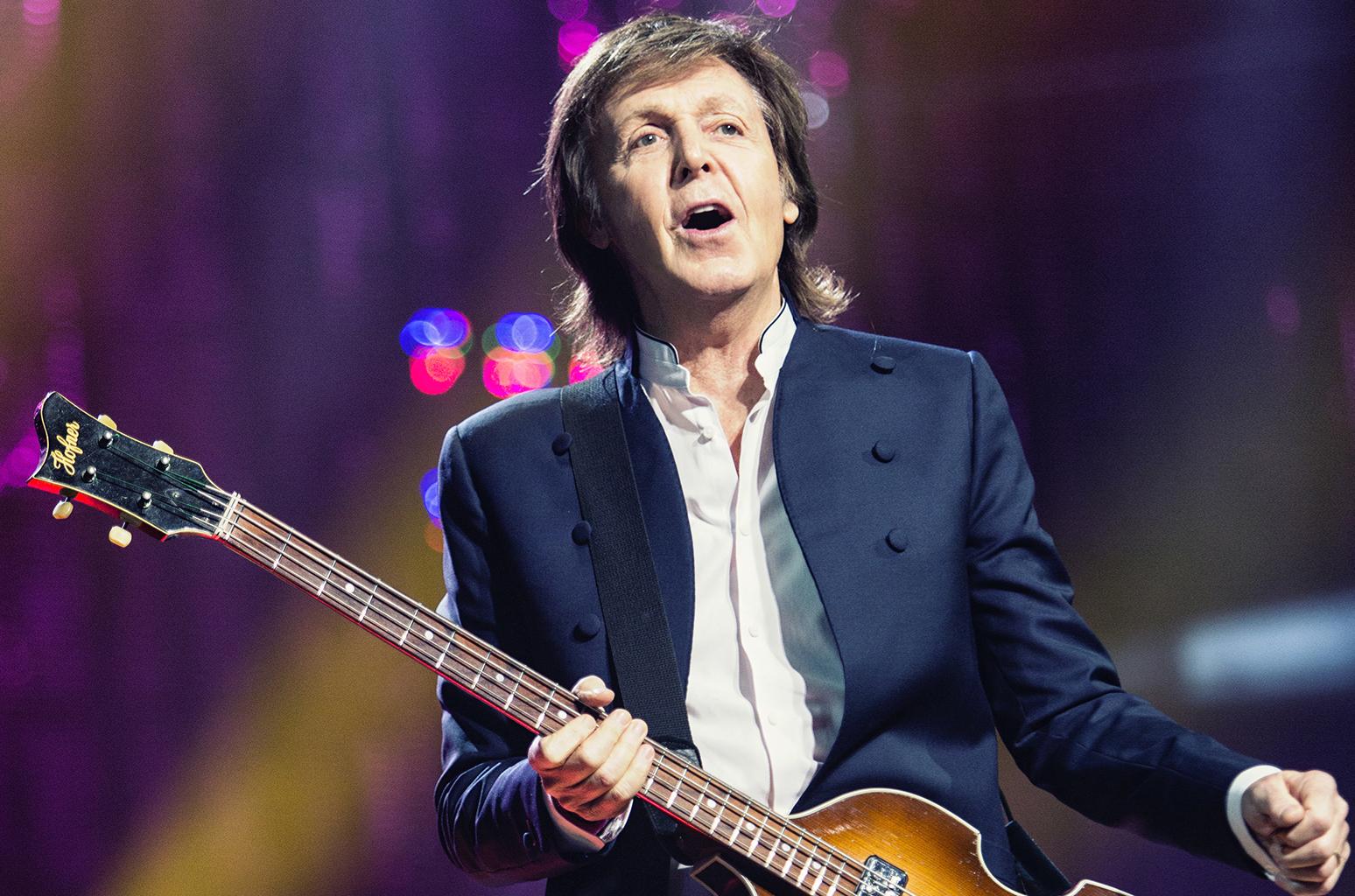 Paul McCartney encabeza las listas de los músicos más ricos