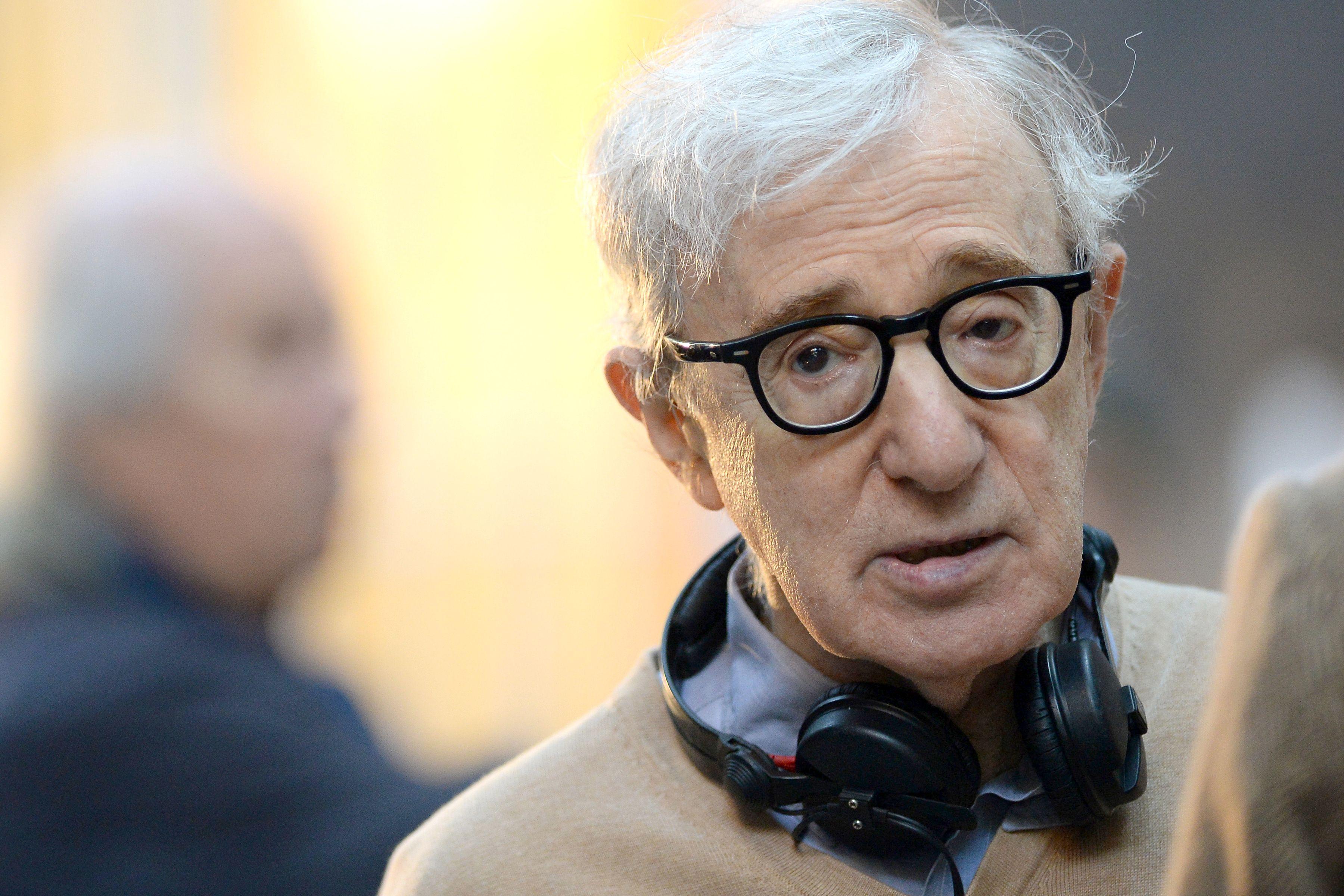 Woody Allen desenfocado