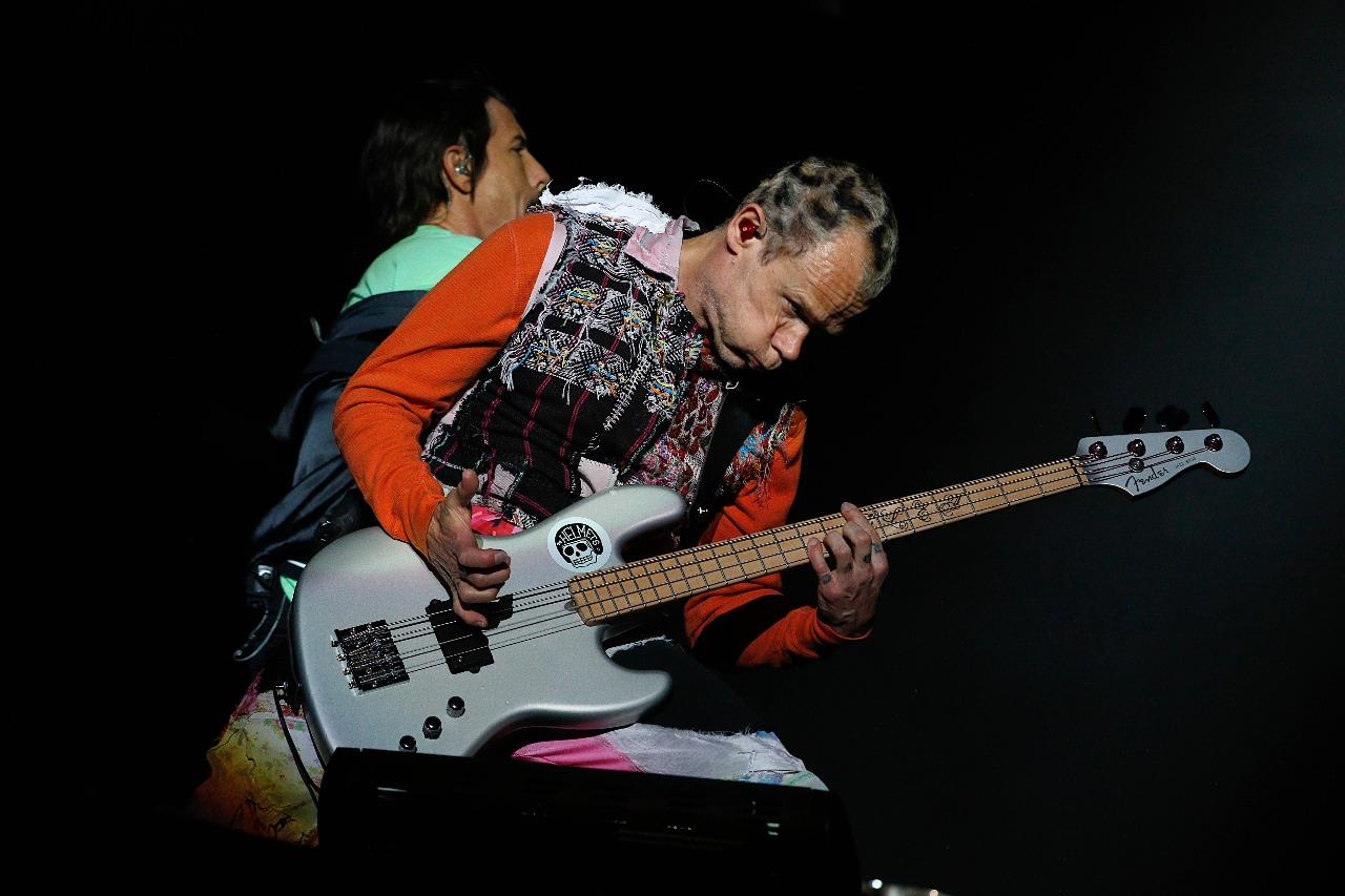 Locura Total Marca El Reencuentro De Red Hot Chili Peppers Con Sus