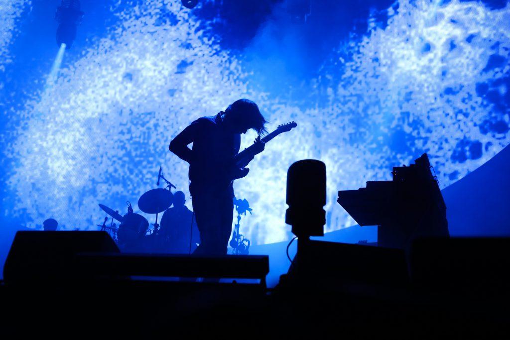 Revisa las mejores fotos del concierto de Radiohead en Chile