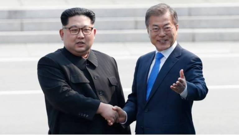 Corea del Norte y del Sur tratado histórico