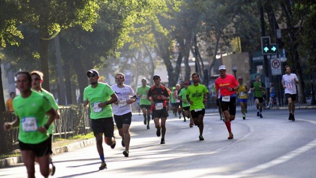 Se informaron los cortes de calle por la Maratón de Santiago