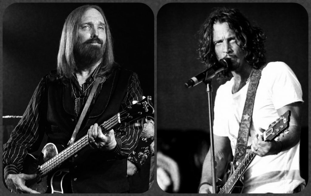 collage tom perry chris cornell
