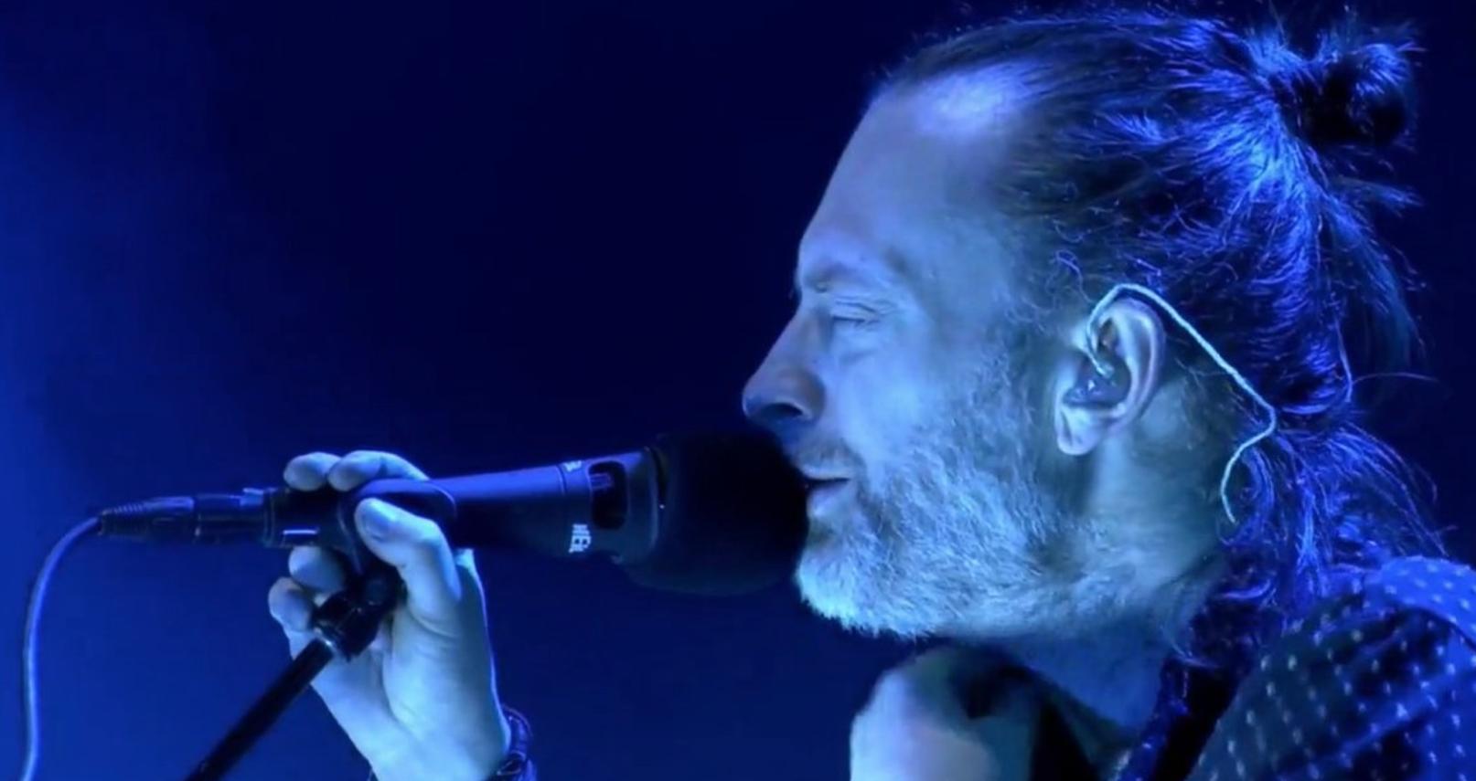 ¡Atención fans! Transmitirán el concierto de Radiohead en vivo por streaming