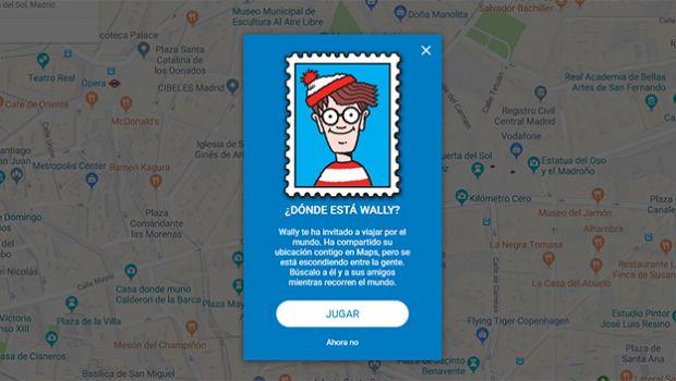 Ahora puedes jugar a ¿Dónde está Wally? En Google Maps