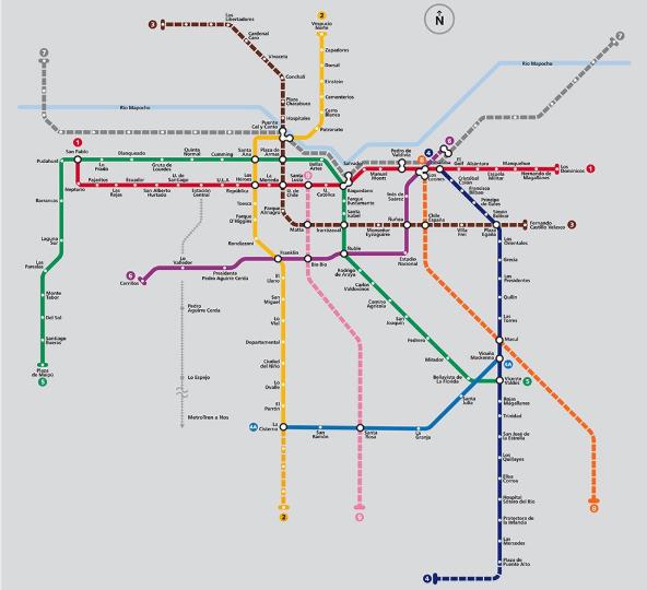 Asi Lucira El Mapa Final De Metro Para 2026