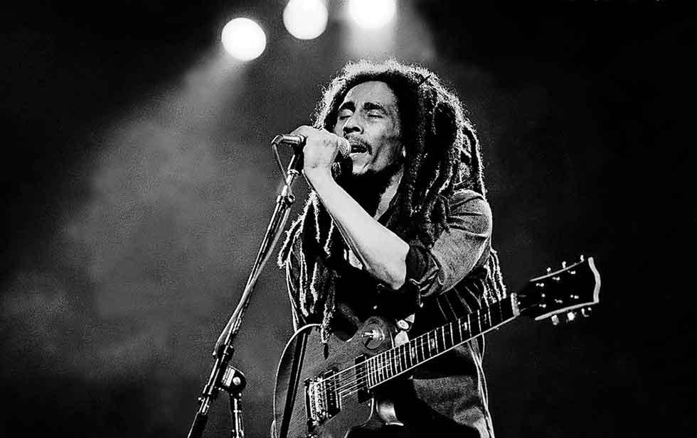 Hijo de Bob Marley trabaja en una película biográfica del cantante