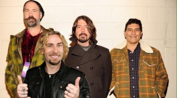 Resultado de imagen de Nirvana Chad Kroeger