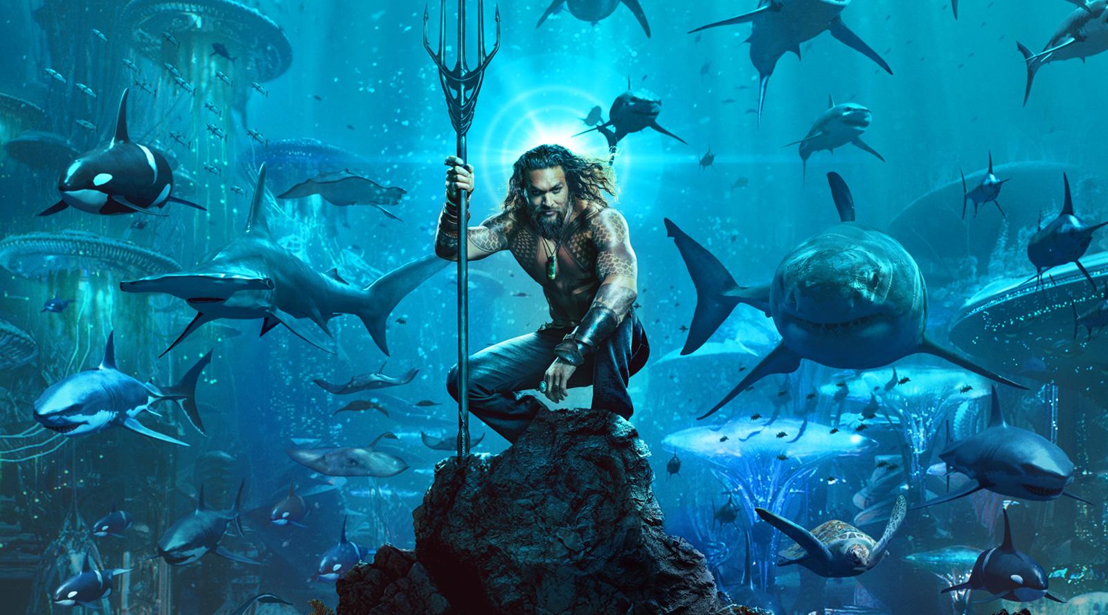 Ve aquí el primer póster de la película Aquaman