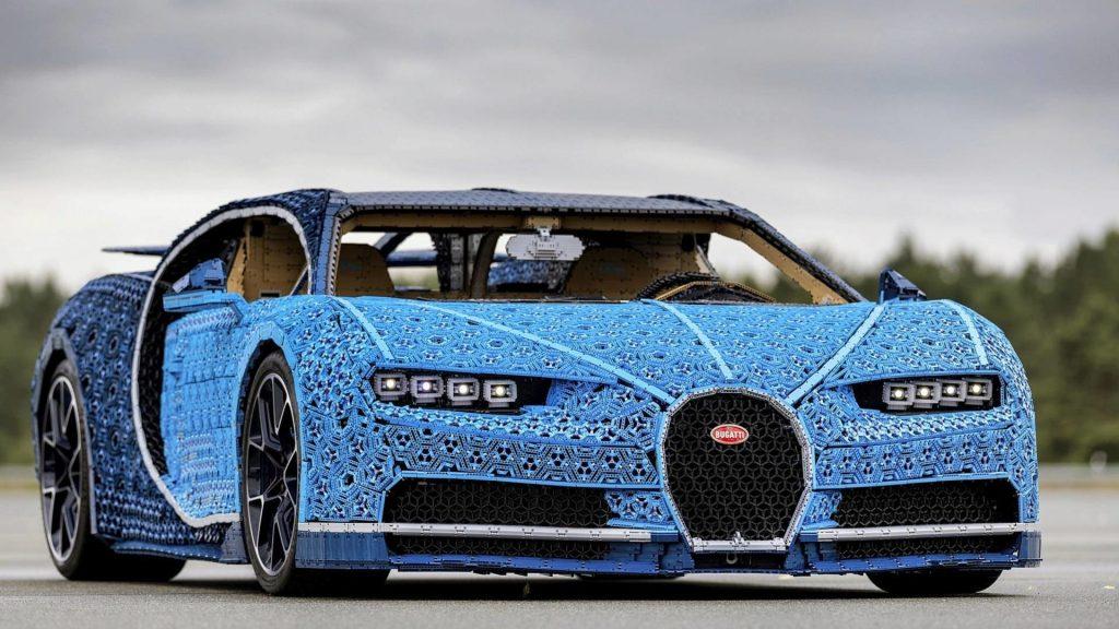 Lego Construye Auto Bugatti Chiron En Tamano Real Ademas Se Puede