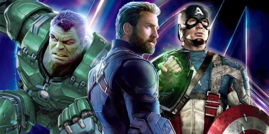 filtran imágenes de los personajes de avengers 4 rock pop