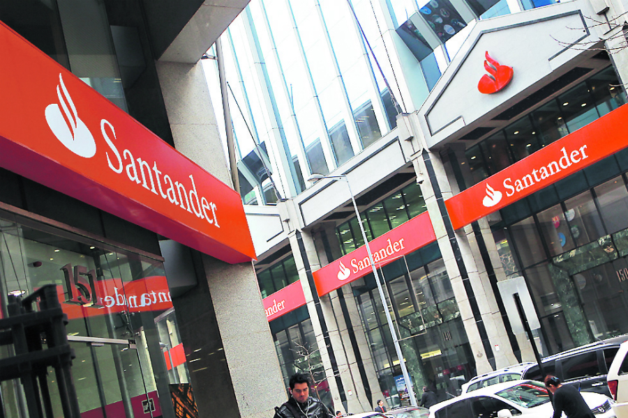 Banco Santander termina contrato con Transbank