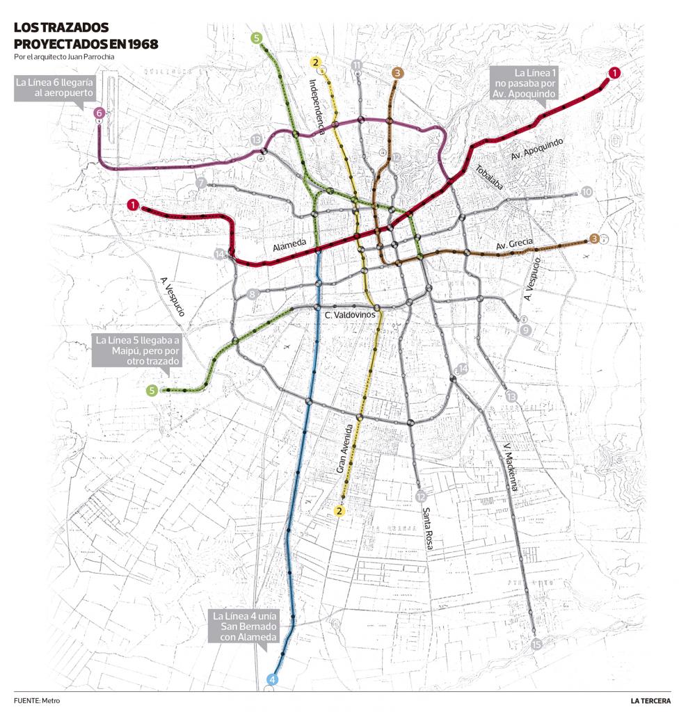 Este Es El Nuevo Bosquejo Del Mapa De Metro Para 2026