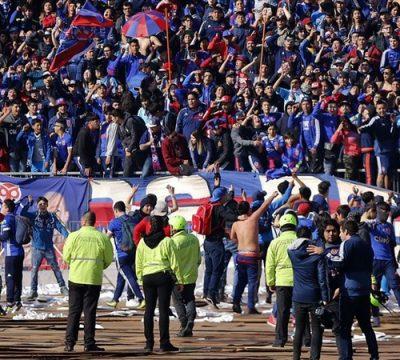 Universidad de Chile asistentes partidos