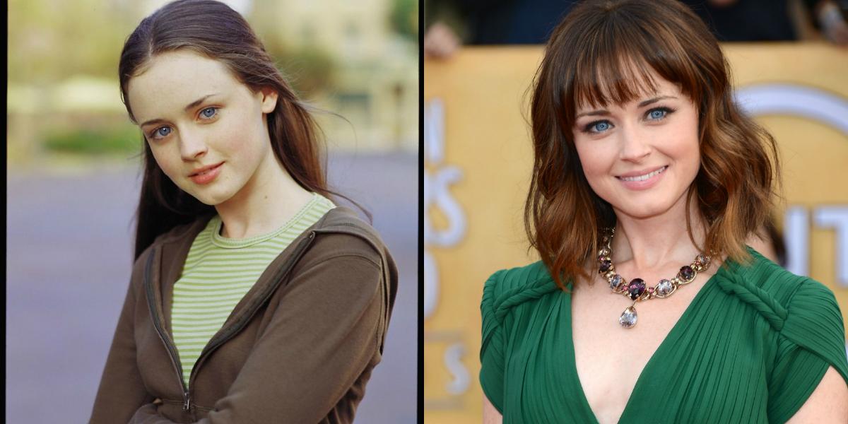 gilmore girls antes y después