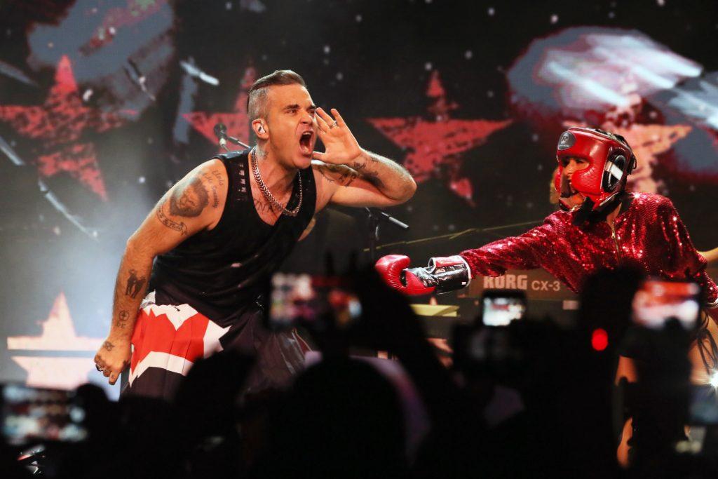 Fotos: ¡El regreso de Robbie Williams a Chile!