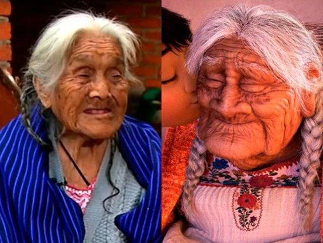 Coco la verdadera anciana