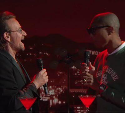 Bono Pharrell escucha
