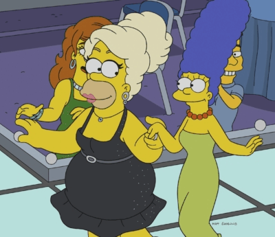 marge homero drag queens