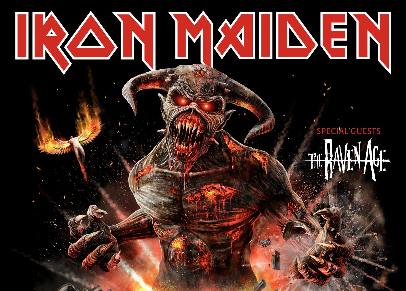 Iron Maiden en Chile: Precios y coordenadas para su regreso a Chile