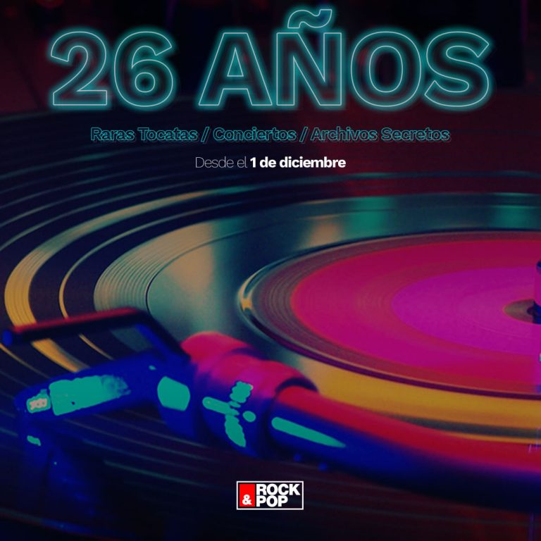 26 años rock and pop chile