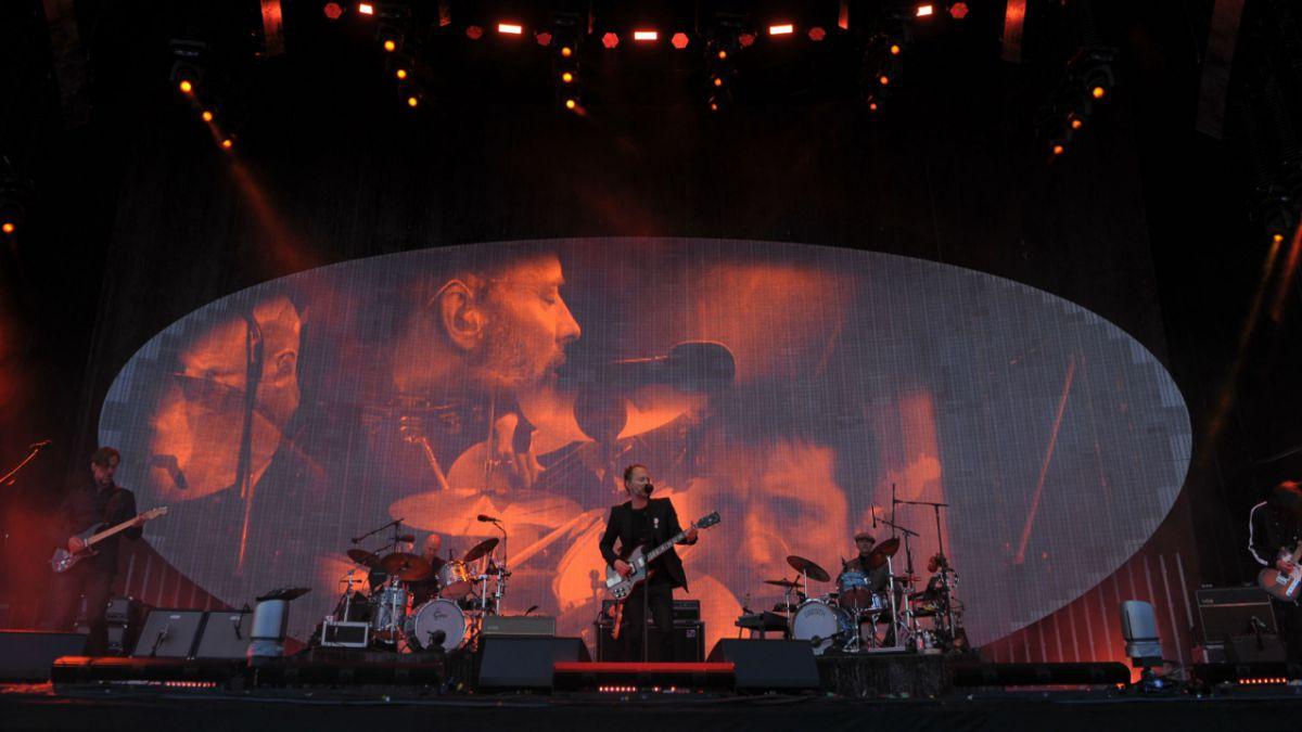 Concierto de Radiohead en Chile