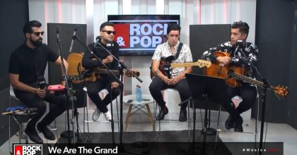 we are the grand rock and pop