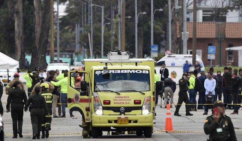 Atentado en Escuela Gral. Santander deja 5 muertos y 10 heridos
