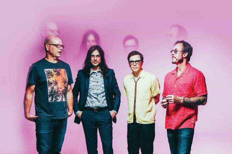 weezer concierto debut en chile