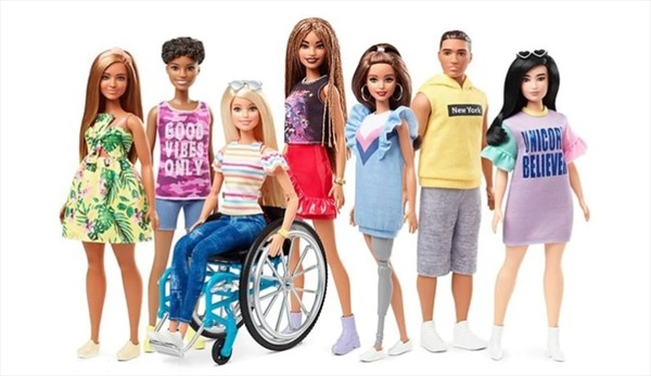 barbie silla de ruedas