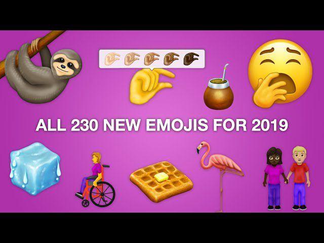 Estos son los nuevos emojis que llegarán a tu smartphone