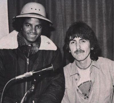 George Harrison Michael Jackson