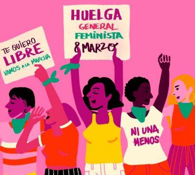 huelga feminista 8M chile
