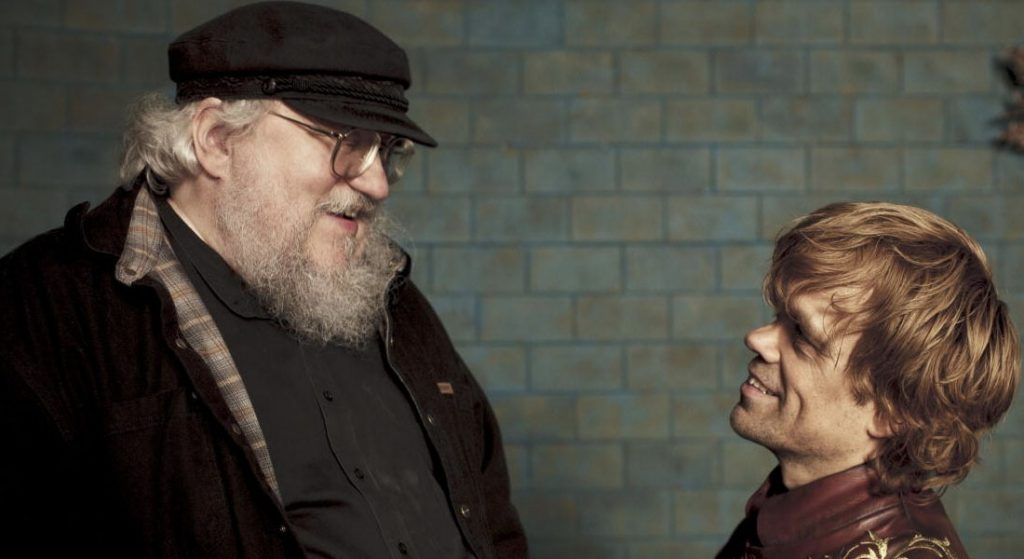 George RR Martin no sabe cómo termina la serie — Game of Thrones