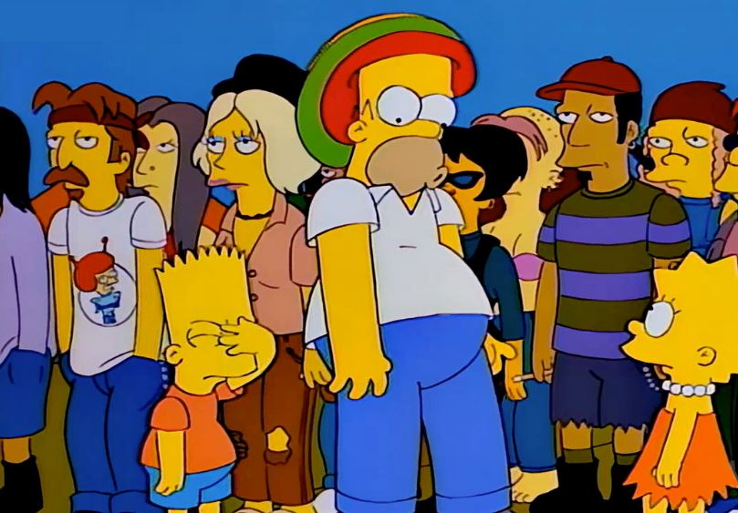 The Simpsons Lollapalooza