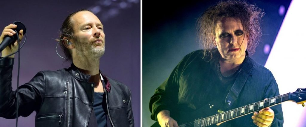 Radiohead The Cure