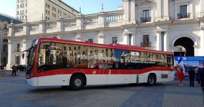 red sistema de transporte chile