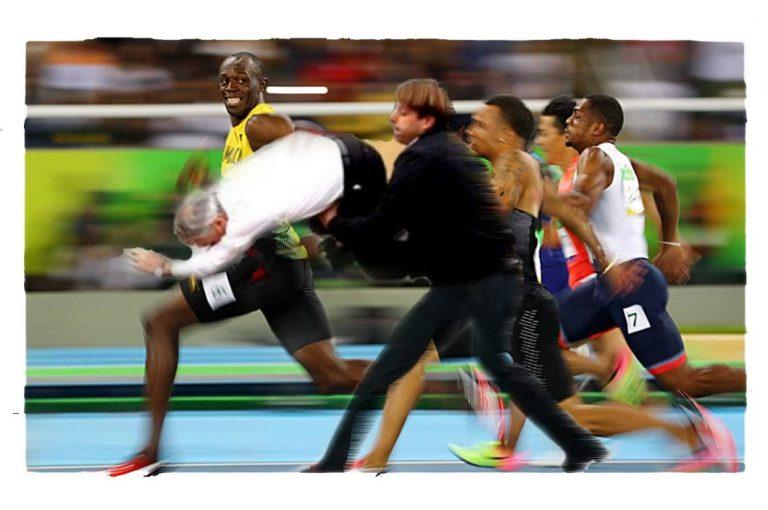 Piñera Usain Bolt